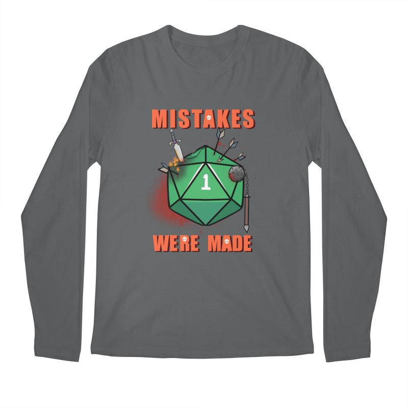 Mistakes were made Men's Longsleeve T-Shirt by AnimeGravy