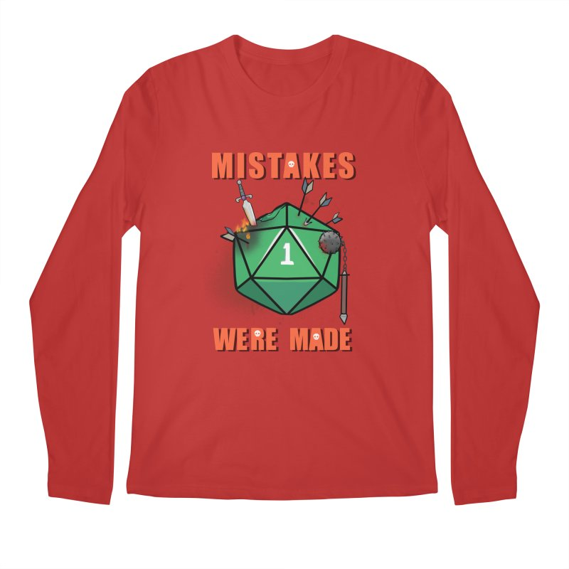 Mistakes were made Men's Regular Longsleeve T-Shirt by AnimeGravy