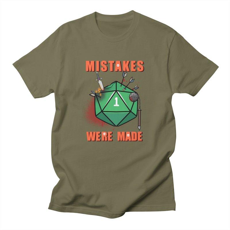Mistakes were made Men's Regular T-Shirt by AnimeGravy