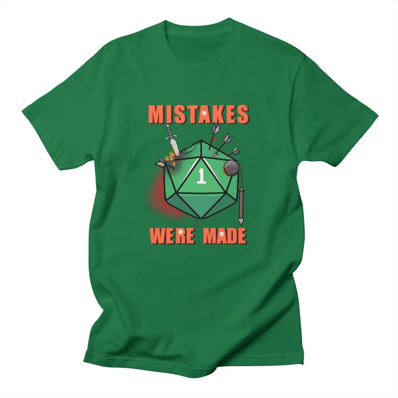 Mistakes were made Women's Regular Unisex T-Shirt by AnimeGravy