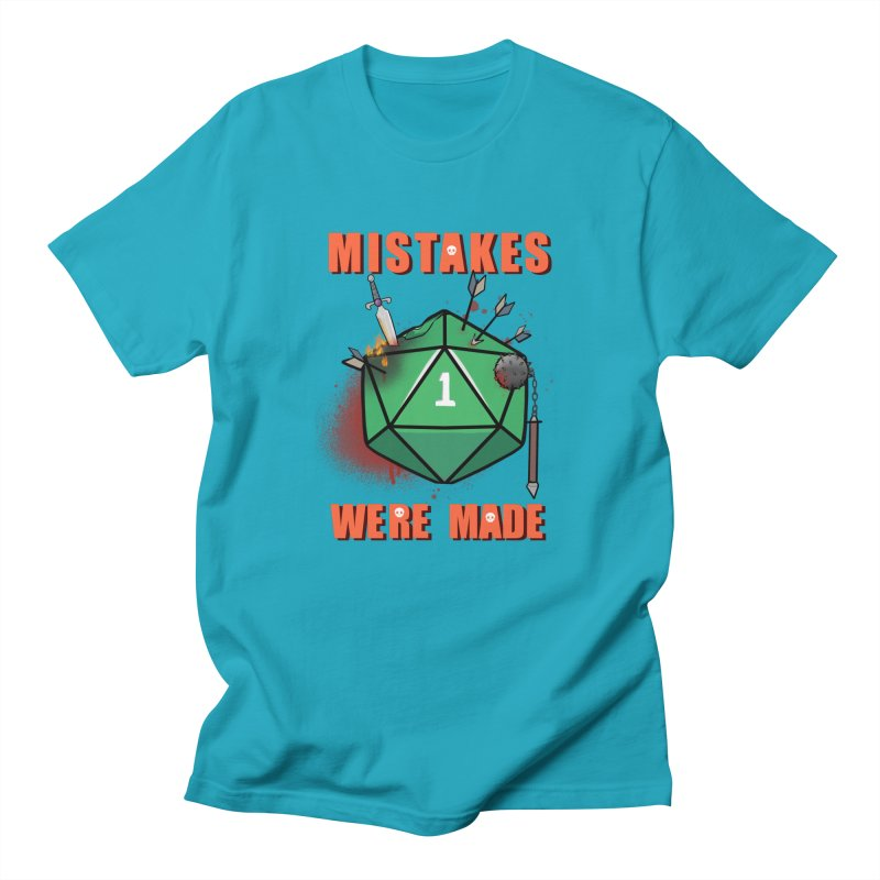 Mistakes were made Women's Regular Unisex T-Shirt by AnimeGravy