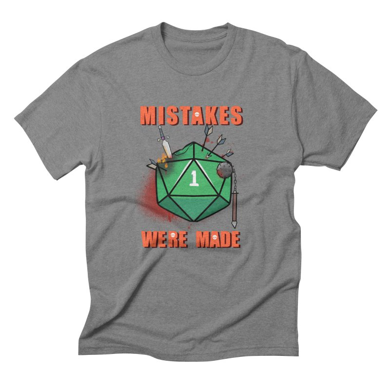 Mistakes were made Men's Triblend T-Shirt by AnimeGravy