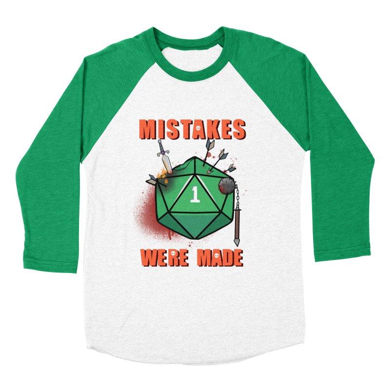 Mistakes were made Women's Baseball Triblend Longsleeve T-Shirt by AnimeGravy