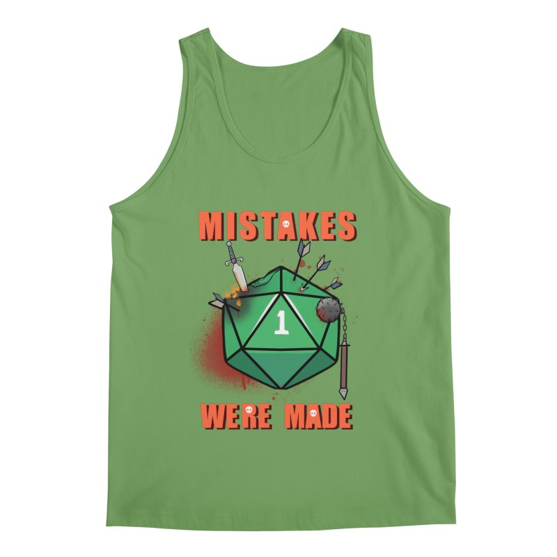 Mistakes were made Men's Tank by AnimeGravy