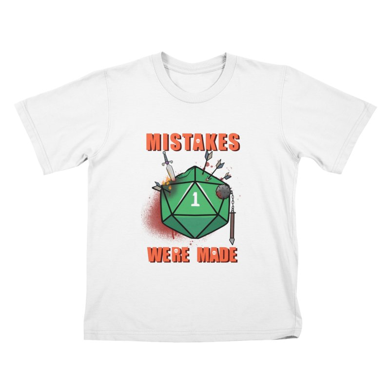 Mistakes were made Kids T-Shirt by AnimeGravy
