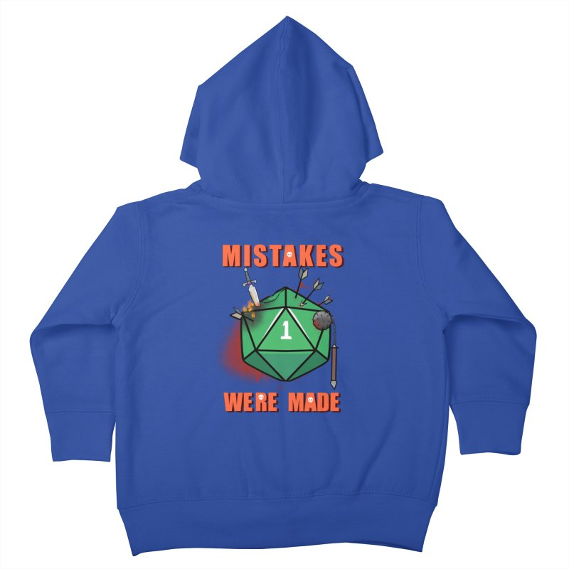 Mistakes were made Kids Toddler Zip-Up Hoody by AnimeGravy