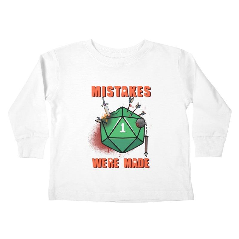 Mistakes were made Kids Toddler Longsleeve T-Shirt by AnimeGravy