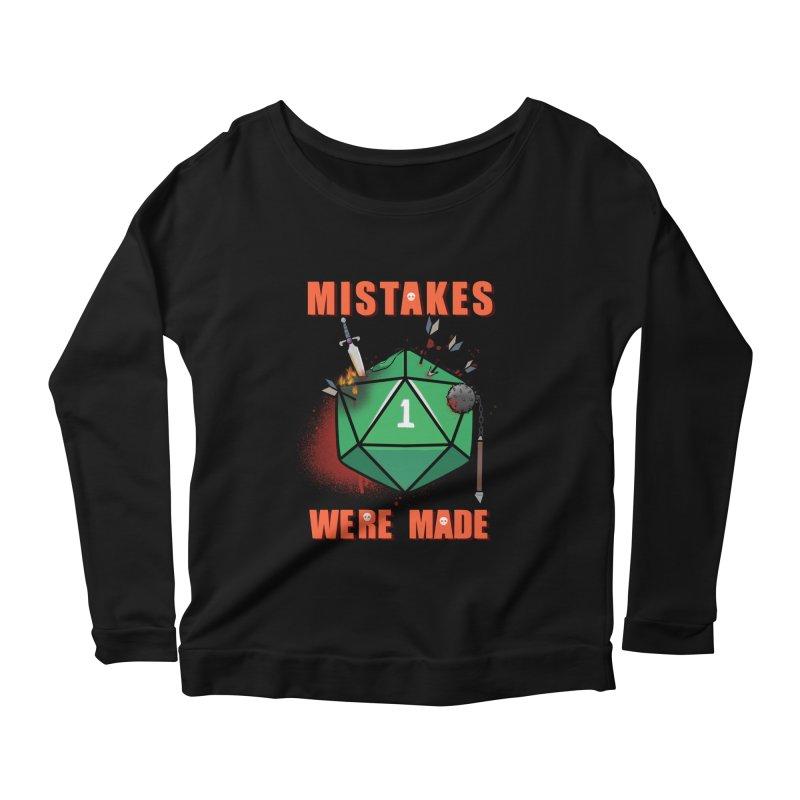 Mistakes were made Women's Scoop Neck Longsleeve T-Shirt by AnimeGravy