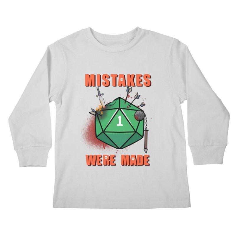 Mistakes were made Kids Longsleeve T-Shirt by AnimeGravy