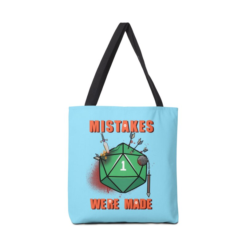 Mistakes were made Accessories Bag by AnimeGravy