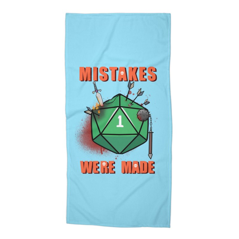 Mistakes were made Accessories Beach Towel by AnimeGravy