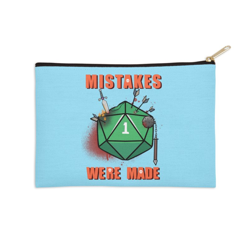 Mistakes were made Accessories Zip Pouch by AnimeGravy