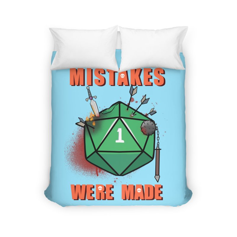 Mistakes were made Home Duvet by AnimeGravy
