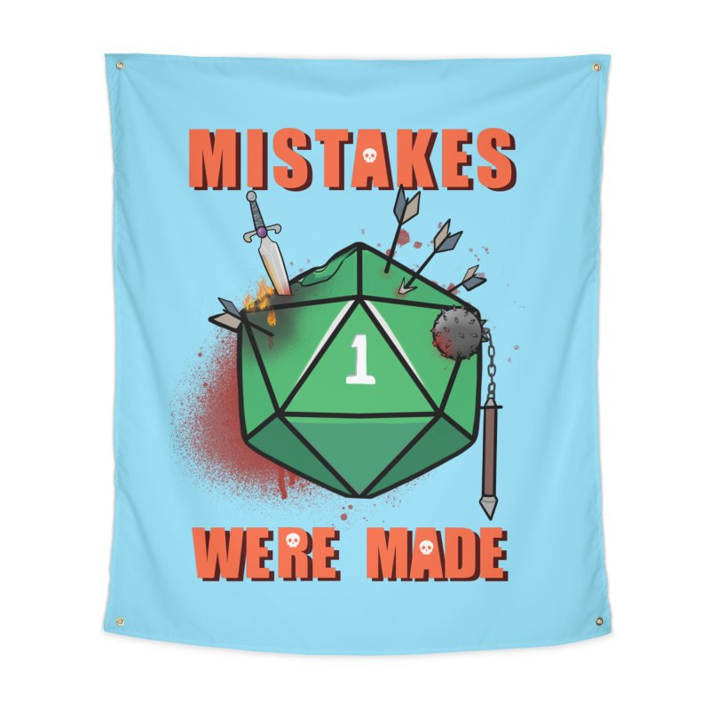 Mistakes were made Home Tapestry by AnimeGravy