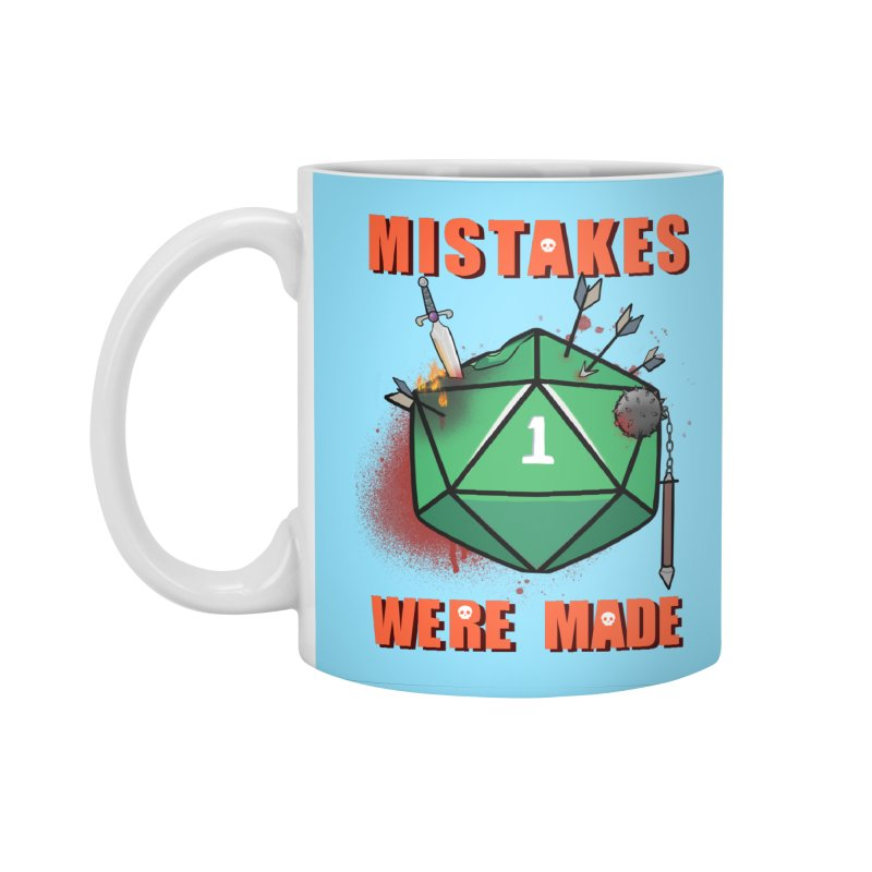 Mistakes were made Accessories Standard Mug by AnimeGravy