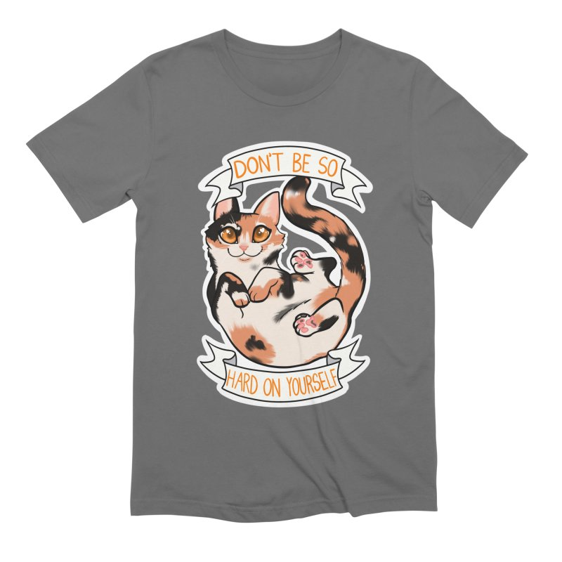 Don't be so hard on yourself Men's T-Shirt by AnimeGravy
