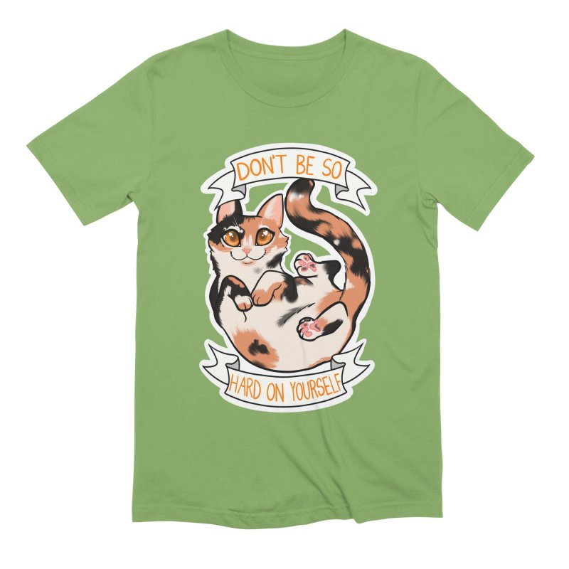 Don't be so hard on yourself Men's Extra Soft T-Shirt by AnimeGravy