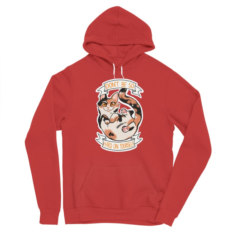 Don't be so hard on yourself Men's Pullover Hoody by AnimeGravy