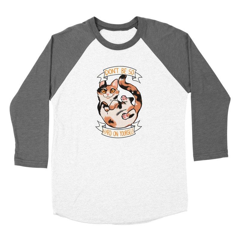 Don't be so hard on yourself Women's Longsleeve T-Shirt by AnimeGravy