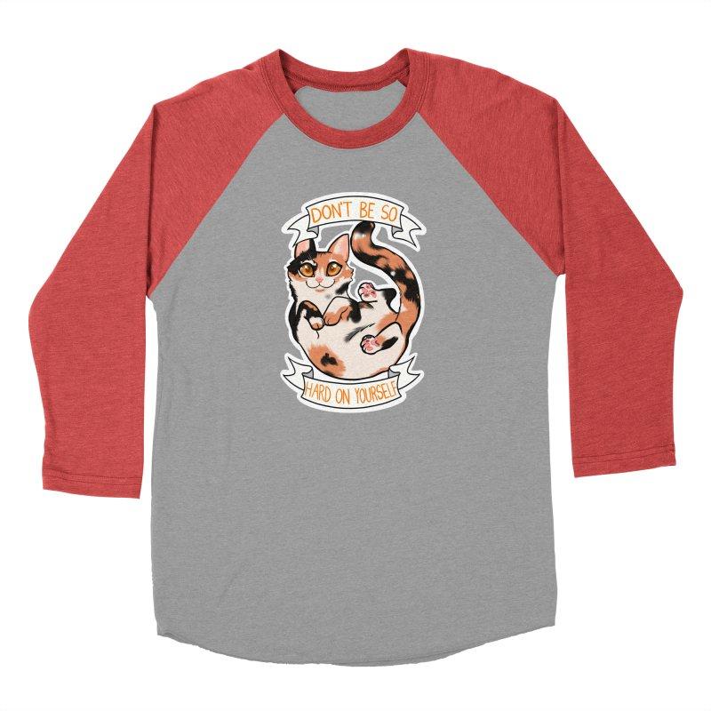 Don't be so hard on yourself Men's Longsleeve T-Shirt by AnimeGravy