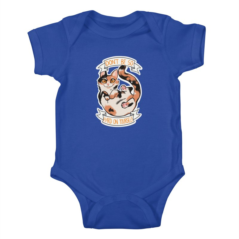 Don't be so hard on yourself Kids Baby Bodysuit by AnimeGravy