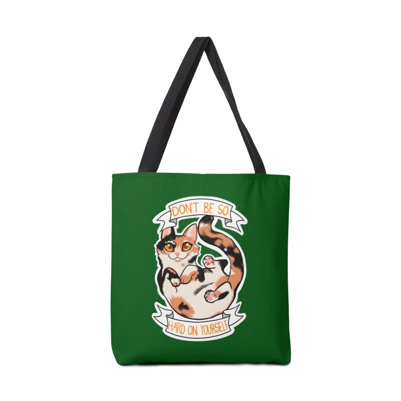 Don't be so hard on yourself Accessories Tote Bag Bag by AnimeGravy