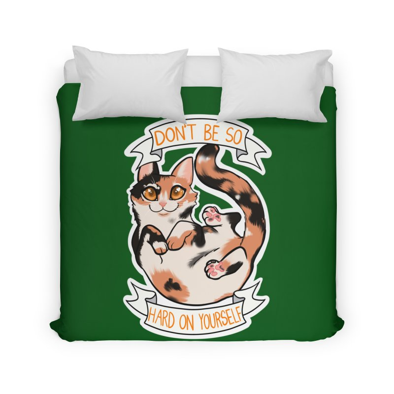 Don't be so hard on yourself Home Duvet by AnimeGravy