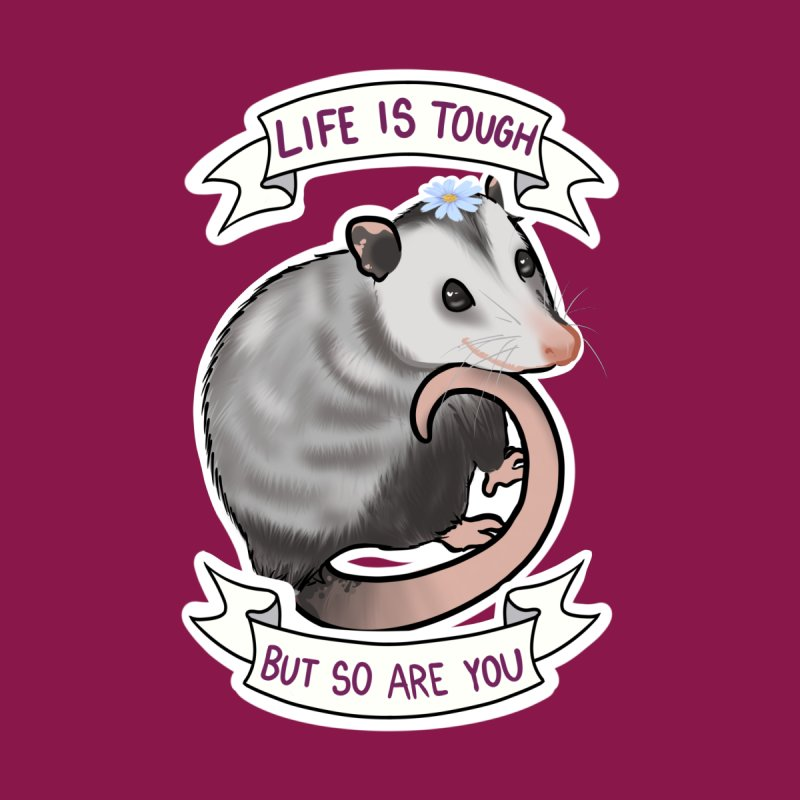 Youre tougher than you think Men's V-Neck by AnimeGravy