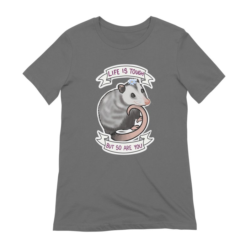 Youre tougher than you think Women's T-Shirt by AnimeGravy
