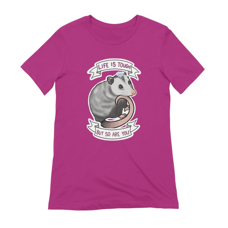 Youre tougher than you think Women's Extra Soft T-Shirt by AnimeGravy