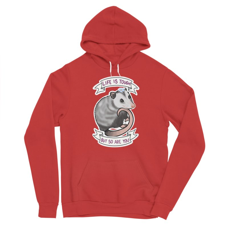 Youre tougher than you think Women's Pullover Hoody by AnimeGravy