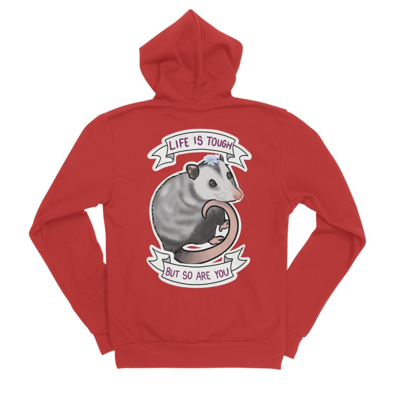 Youre tougher than you think Men's Zip-Up Hoody by AnimeGravy
