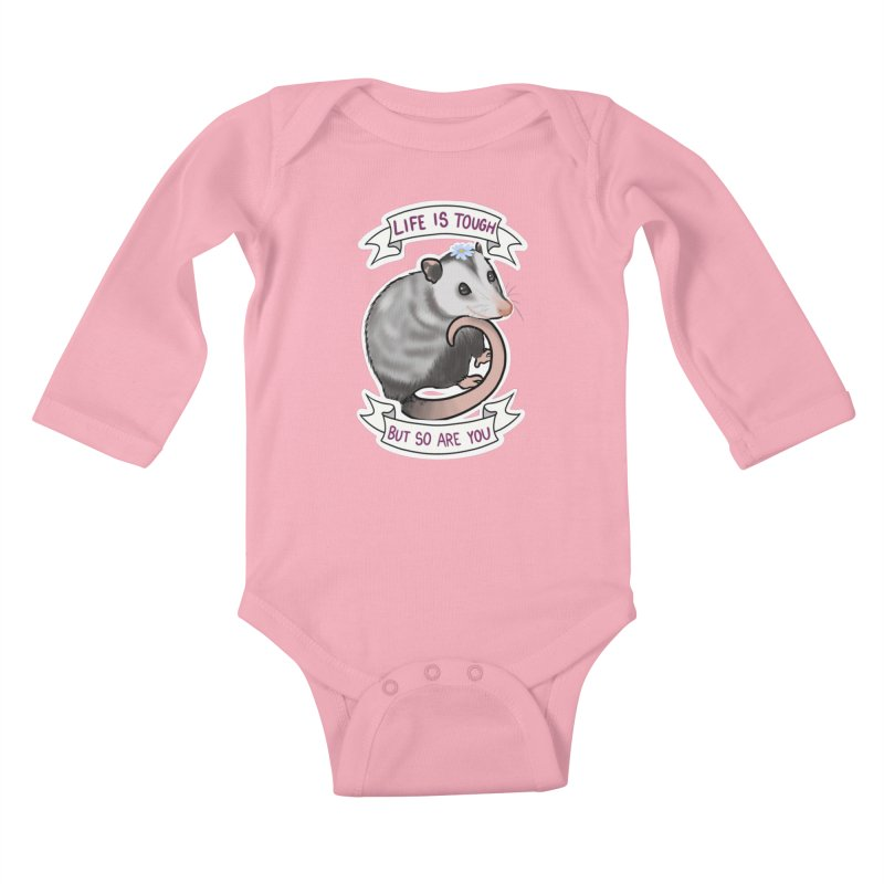 Youre tougher than you think Kids Baby Longsleeve Bodysuit by AnimeGravy