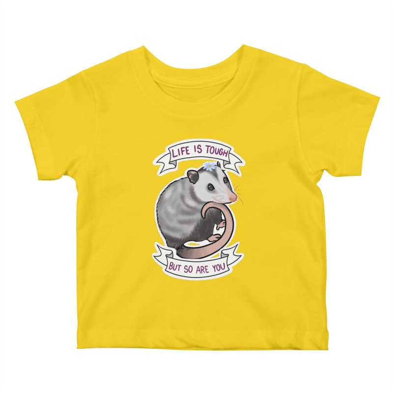Youre tougher than you think Kids Baby T-Shirt by AnimeGravy