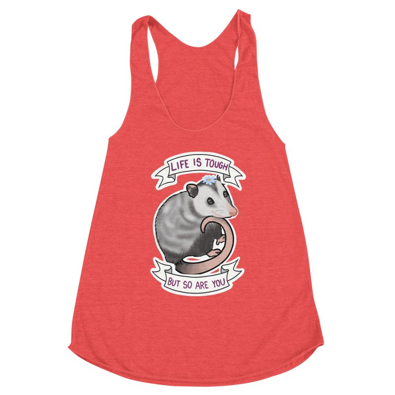 Youre tougher than you think Women's Tank by AnimeGravy