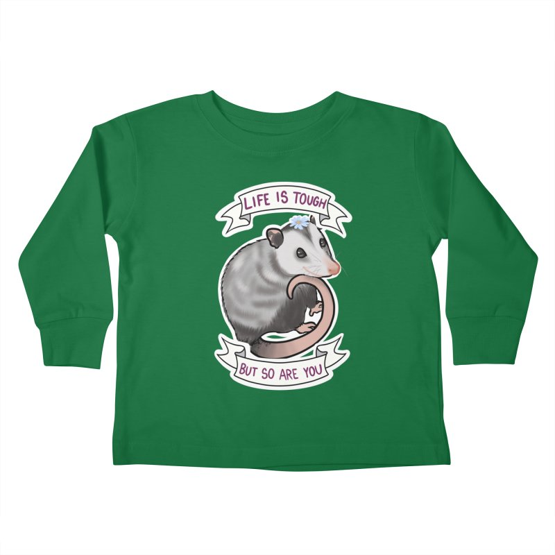 Youre tougher than you think Kids Toddler Longsleeve T-Shirt by AnimeGravy