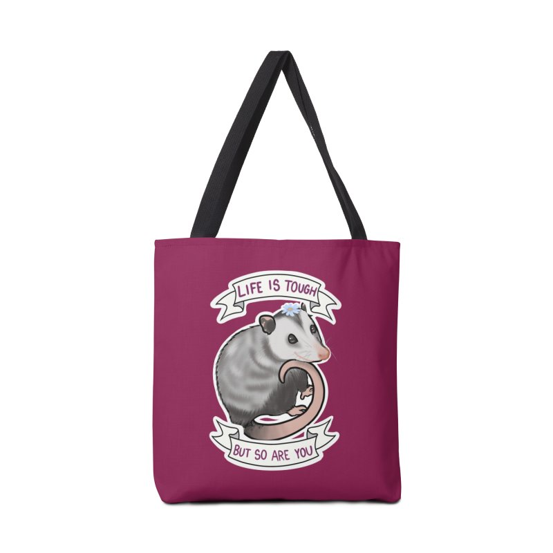 Youre tougher than you think Accessories Bag by AnimeGravy