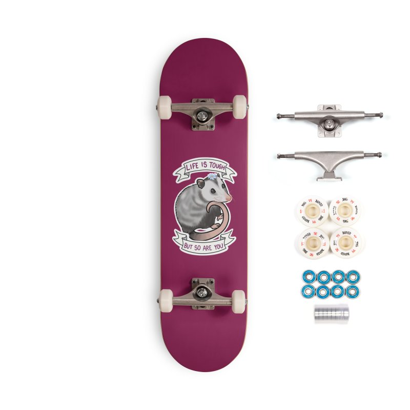 Youre tougher than you think Accessories Complete - Premium Skateboard by AnimeGravy