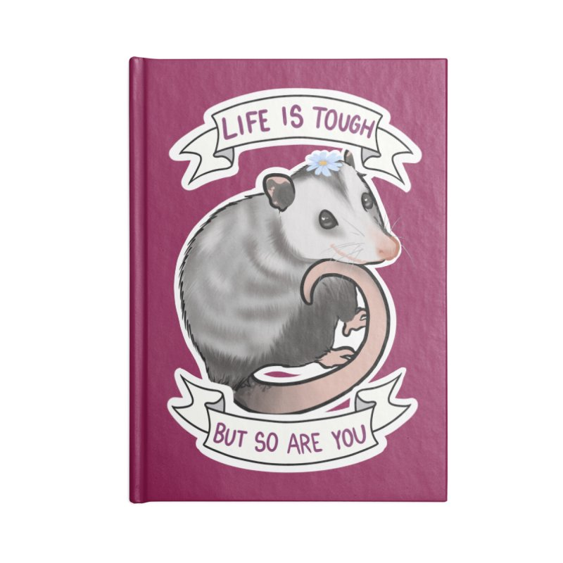 Youre tougher than you think Accessories Lined Journal Notebook by AnimeGravy