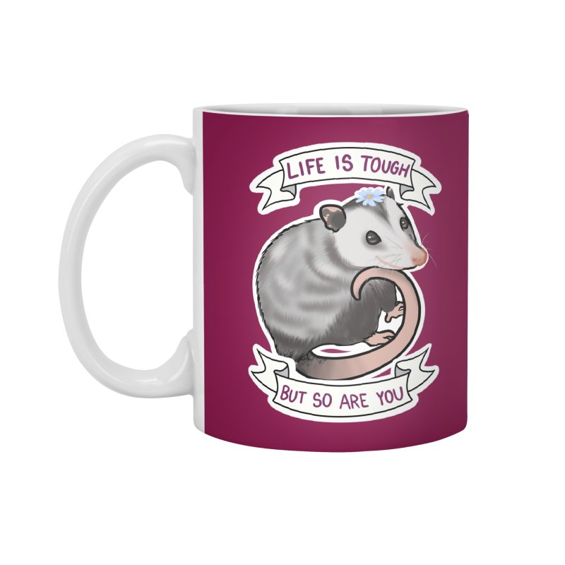 Youre tougher than you think Accessories Mug by AnimeGravy
