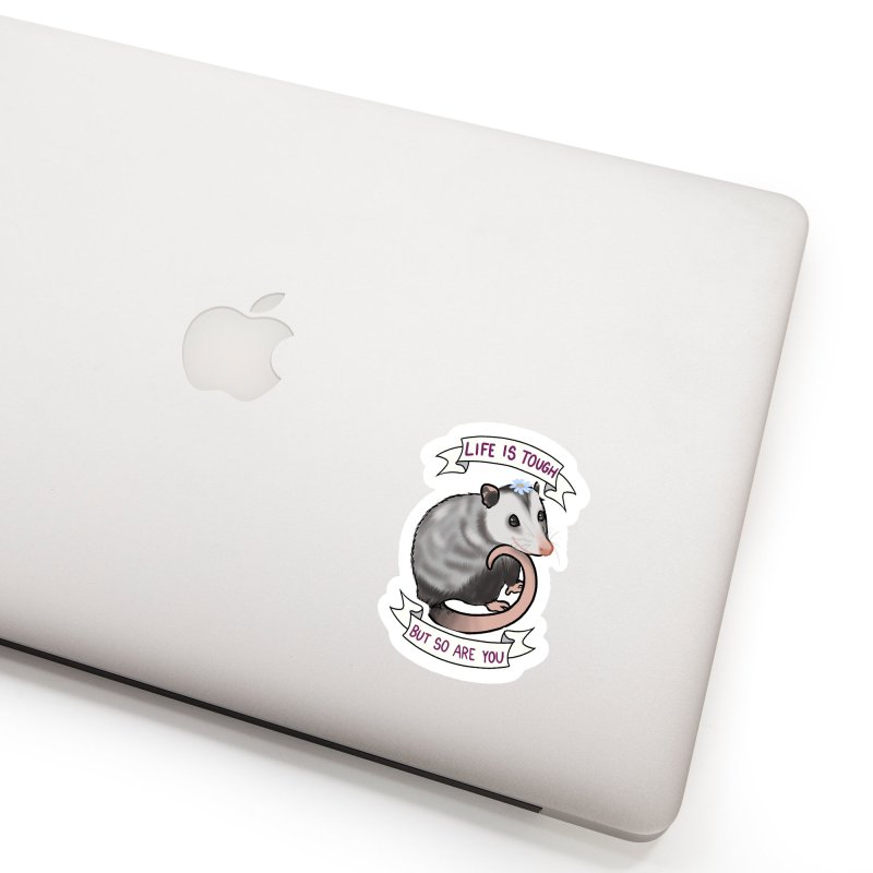 Youre tougher than you think Accessories Sticker by AnimeGravy