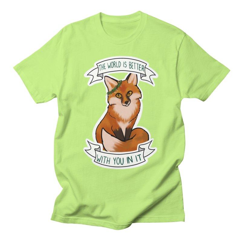 Fox Men's T-Shirt by AnimeGravy