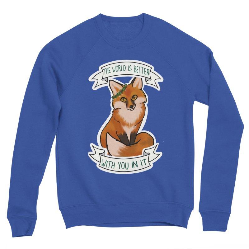 Fox Men's Sweatshirt by AnimeGravy