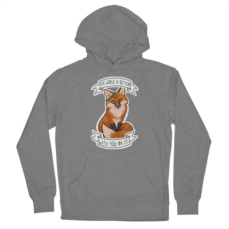 Fox Women's Pullover Hoody by AnimeGravy