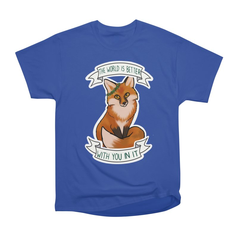 Fox Women's Heavyweight Unisex T-Shirt by AnimeGravy