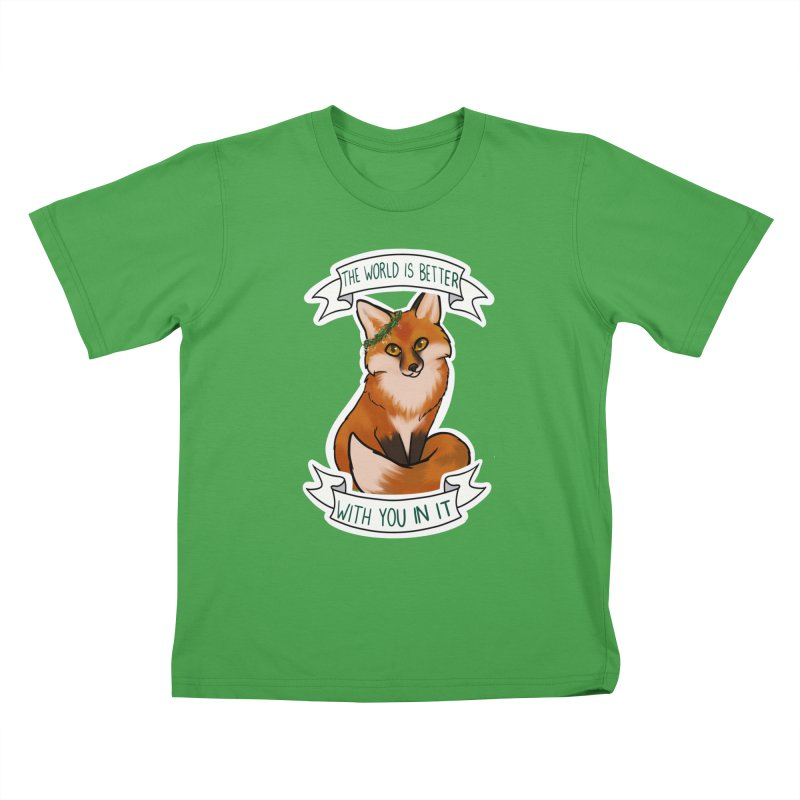Fox Kids T-Shirt by AnimeGravy