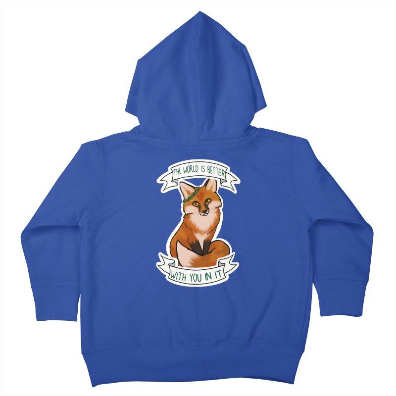 Fox Kids Toddler Zip-Up Hoody by AnimeGravy