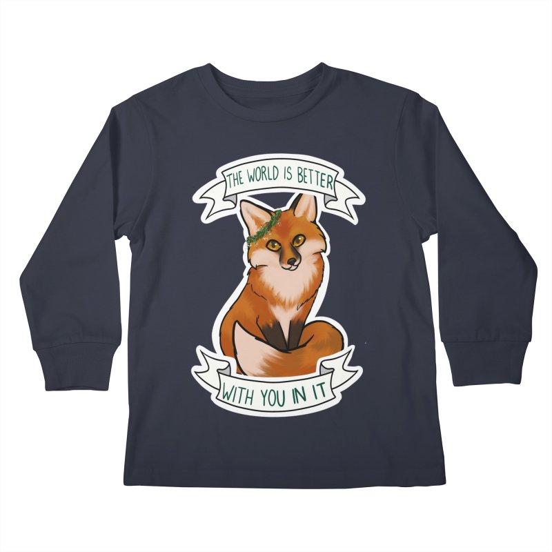 Fox Kids Longsleeve T-Shirt by AnimeGravy