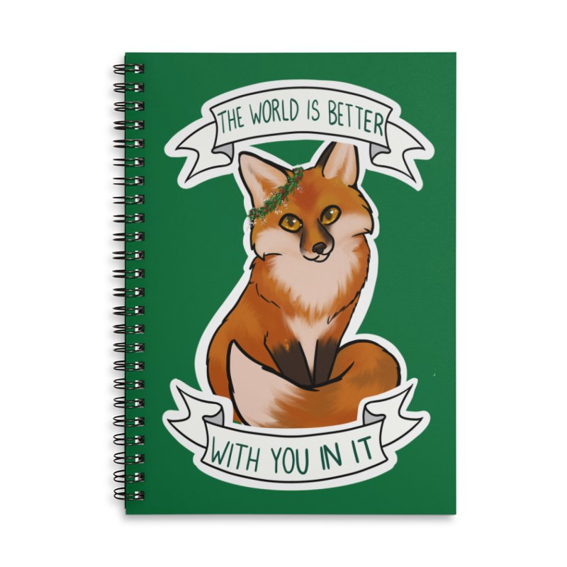 Fox Accessories Notebook by AnimeGravy