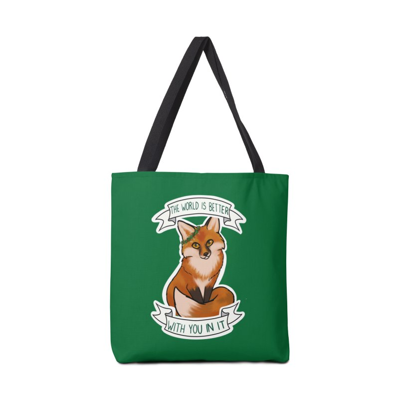 Fox Accessories Bag by AnimeGravy